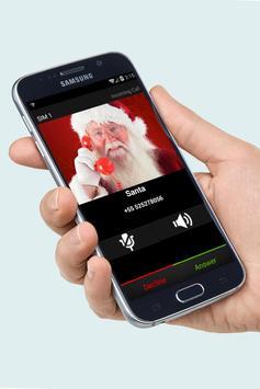Fake Call Santa Joke screenshot 2