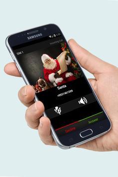 Fake Call Santa Joke screenshot 3