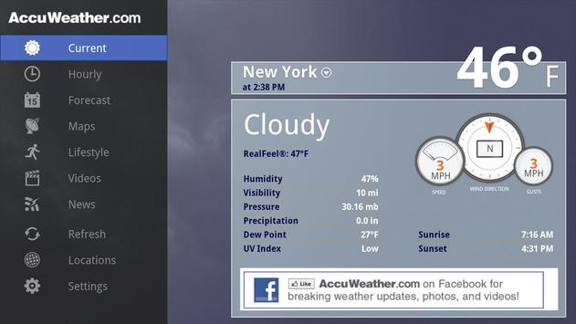 AccuWeather for Sony Google TV poster
