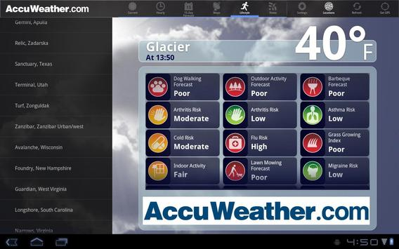 AccuWeather For Sony Tablet S APK Download Free Weather APP For - Free accuweather