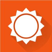 AccuWeather - mapas do clima e rastreador do tempo ícone