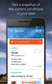AccuWeather: Weather Forecast poster