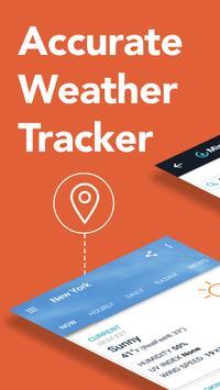 AccuWeather - mapas do clima e rastreador do tempo Cartaz