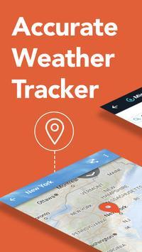 AccuWeather - Alertas e relatórios do clima local Cartaz