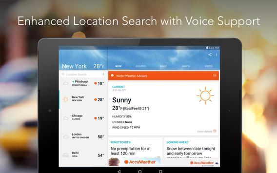 AccuWeather: Weather Forecast apk screenshot