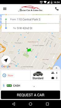 Accue Car & Limo Service screenshot 2