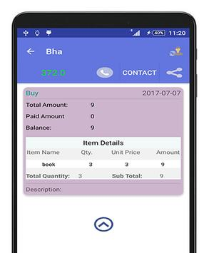 Bill Manager- Accounting+Invoice+Inventory apk screenshot