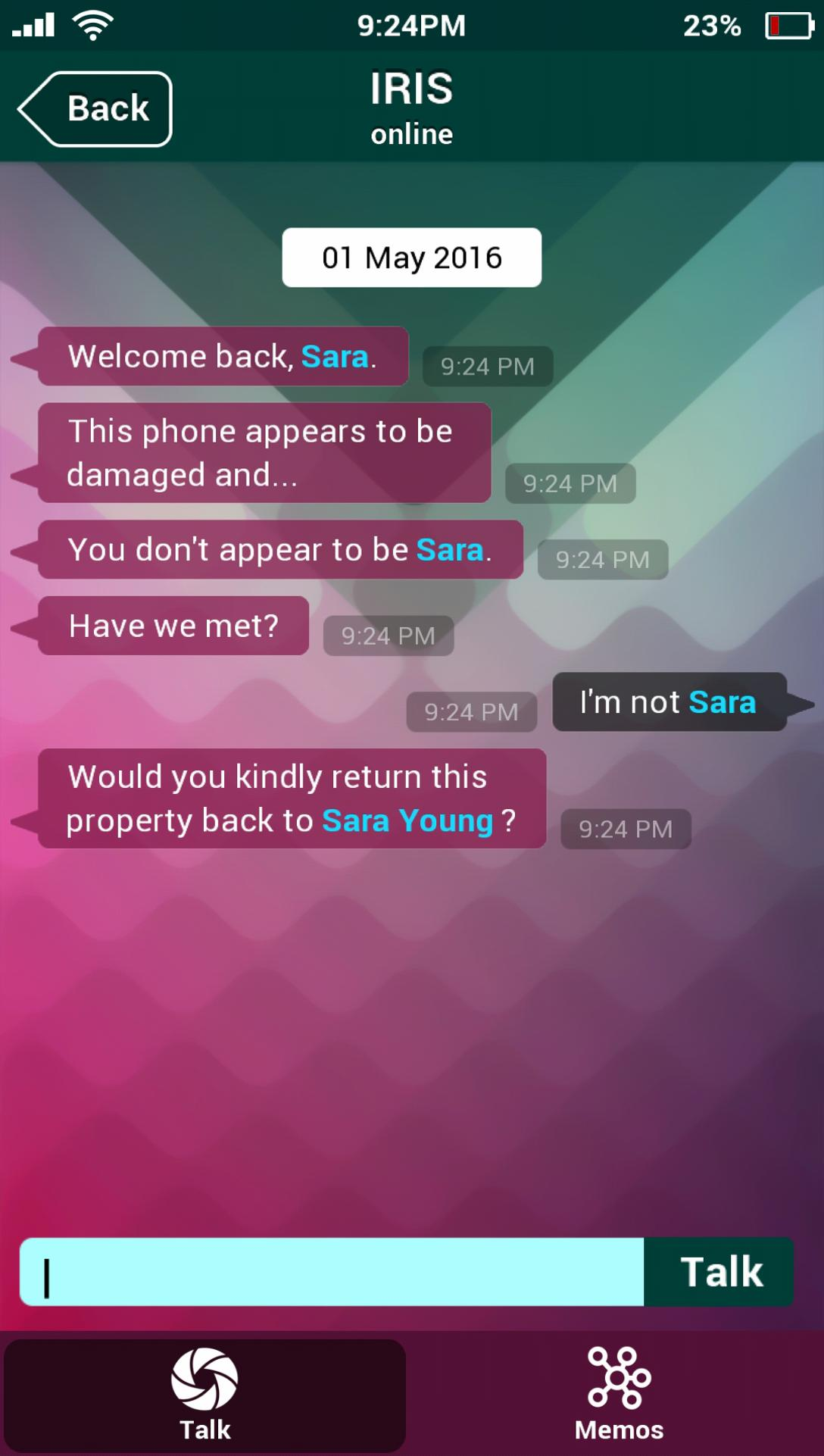 SIM - Sara Is Missing for Android - APK Download