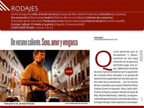Academia. Revista Cine Español screenshot 4