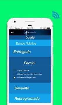 Distrack Transportista screenshot 3