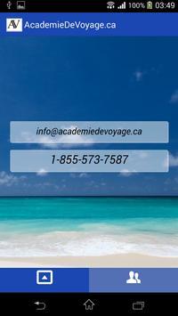 AcademieDeVoyage.ca screenshot 11