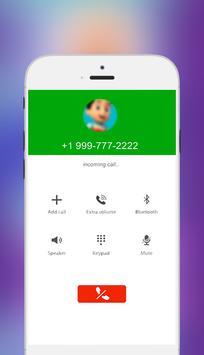 Fake Call From Ryder Patrol Free 2018 screenshot 1