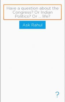 Ask Rahul poster