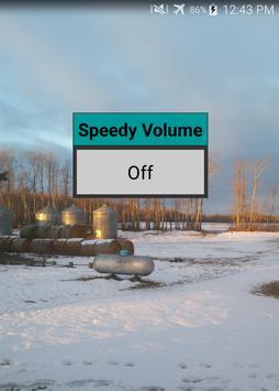 Speedy Volume poster