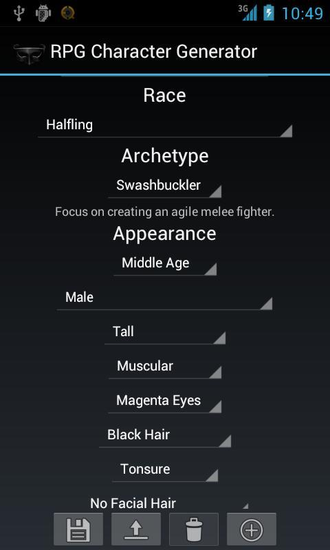RPG Character Generator for Android - APK Download