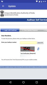 Correction App for Aadhar Card screenshot 1