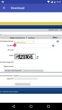 Correction App for Aadhar Card screenshot 2