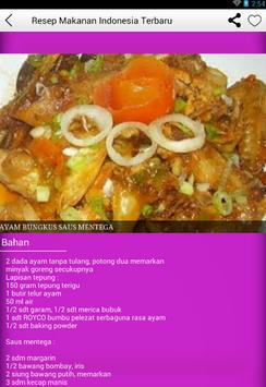 Resep Masakan Indonesia Update apk screenshot