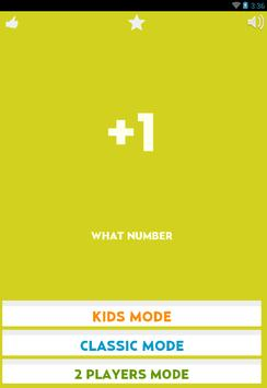 What Number poster
