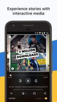 Acast - Podcast Player apk screenshot