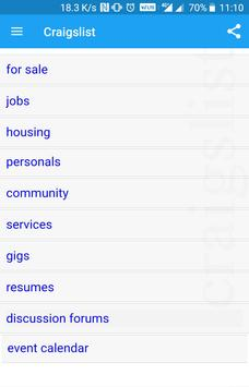 Jobs by CraigsIist/seek classifieds screenshot 1
