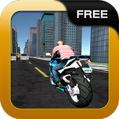 Moto Racing Traffic New York icon