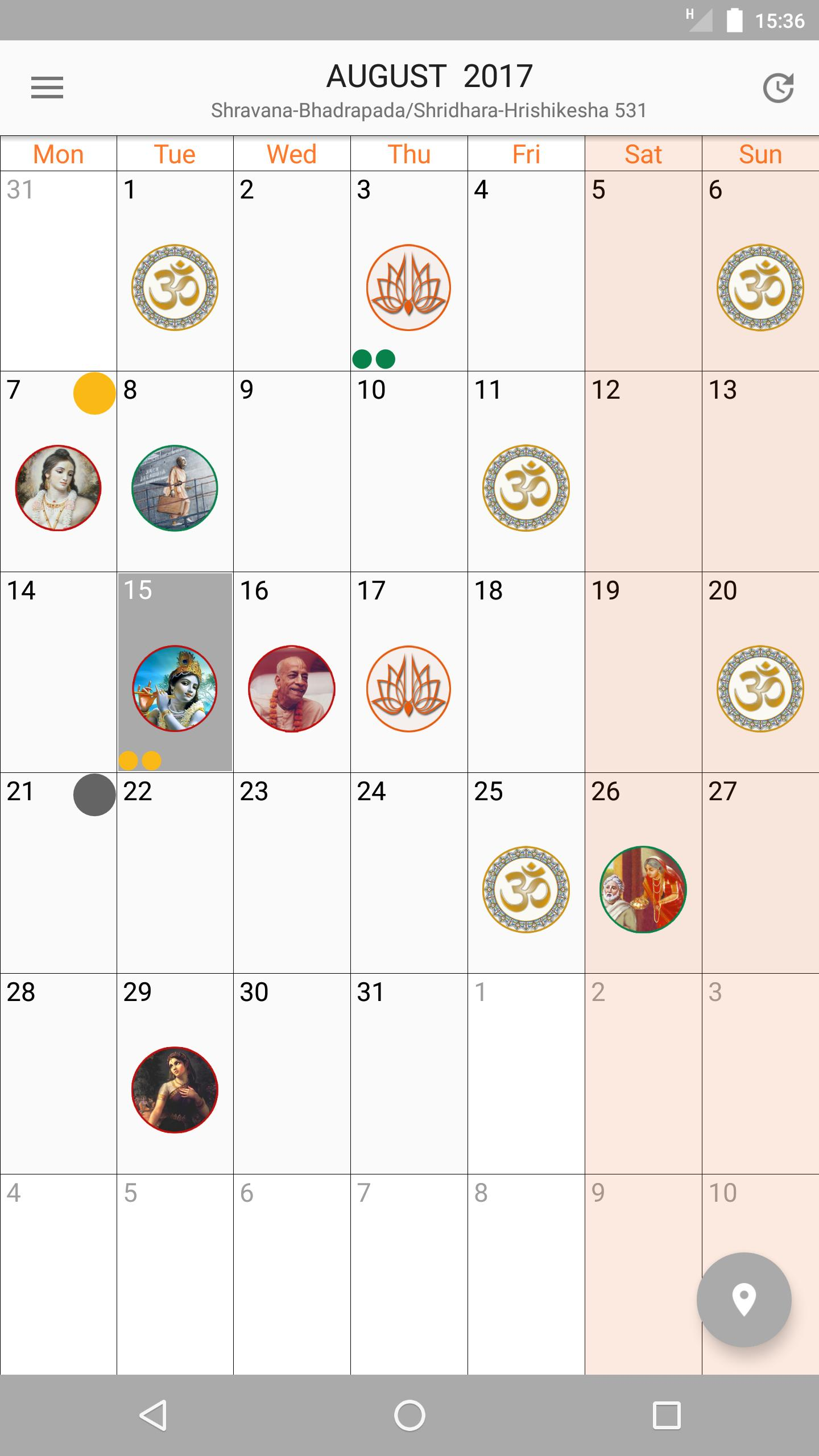 Vaishnava Calendar for Android - APK Download
