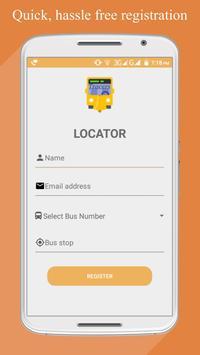 Locator screenshot 1