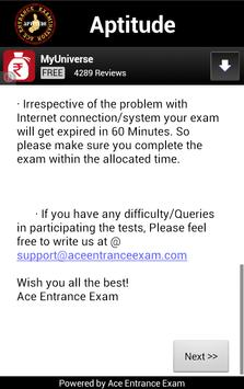 APTITUDE / PLACEMENT MOCK TEST screenshot 3