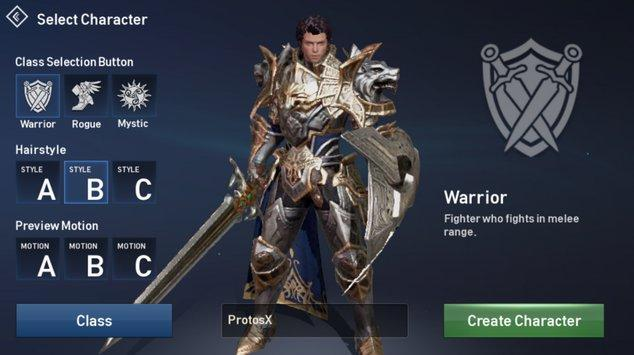 Lineage 2 revolution warlord
