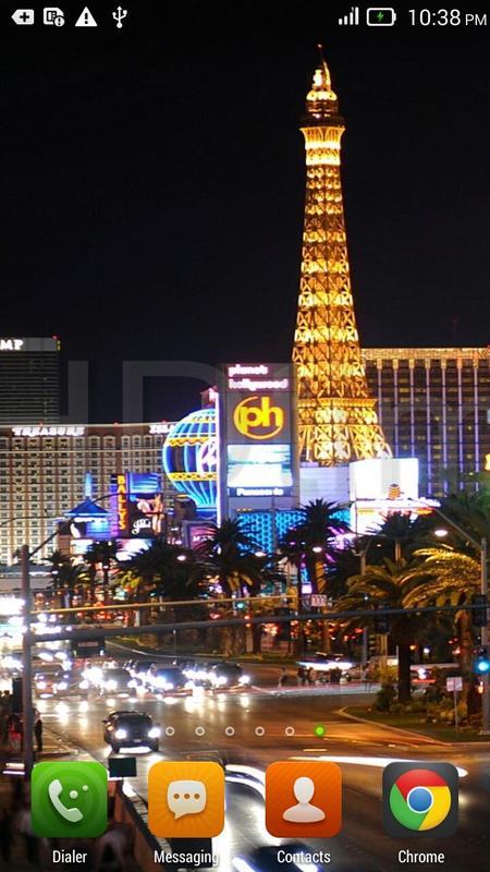 Las Vegas Night live wallpaper poster ...
