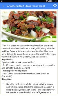 Mexican Recipes Offline apk screenshot