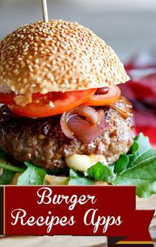 Burger Recipes App poster