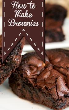 How to Make Brownies poster