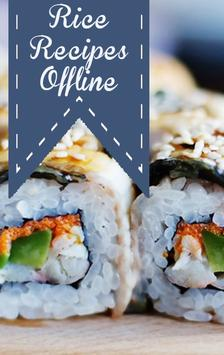 Rice Recipes Offline poster