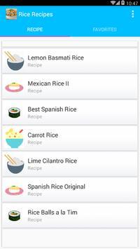 Rice Recipes Offline screenshot 1