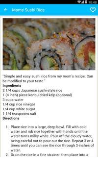 Rice Recipes Offline screenshot 4