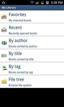 Free Book Reader apk screenshot