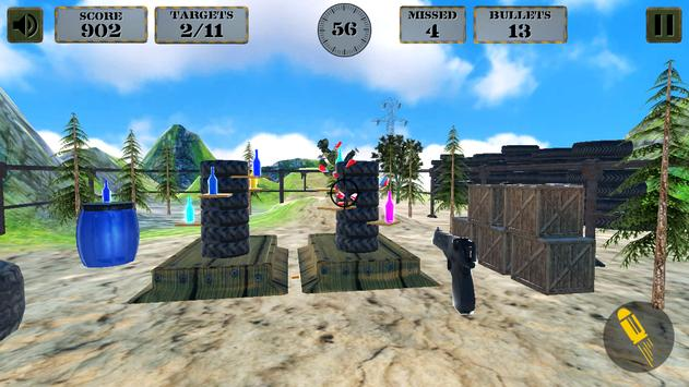3d Bottle Shooting Gun Game screenshot 17