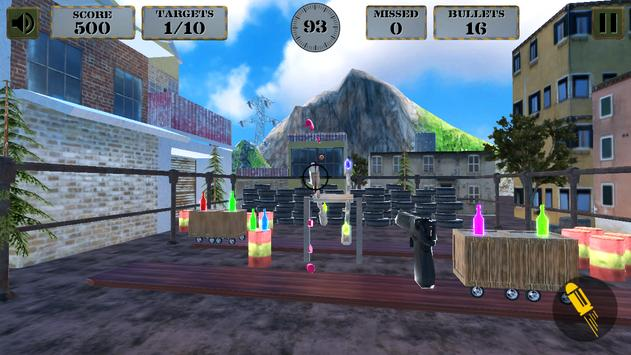 3d Bottle Shooting Gun Game screenshot 14
