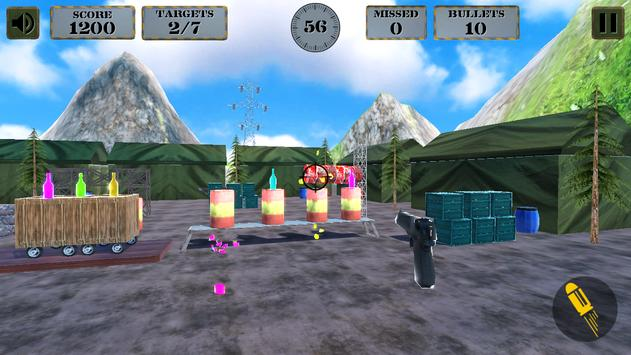 3d Bottle Shooting Gun Game screenshot 18
