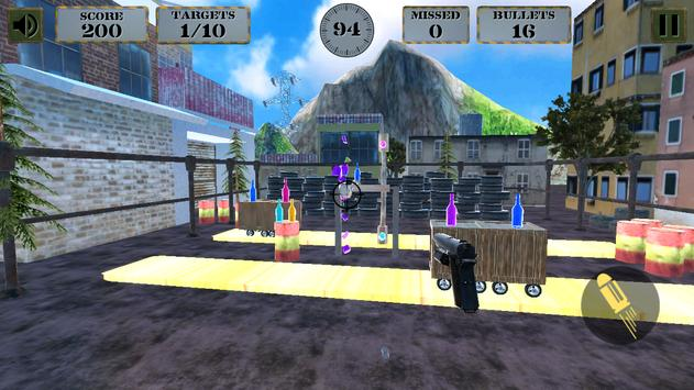 3d Bottle Shooting Gun Game screenshot 3