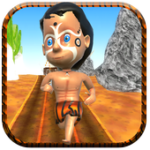 Cave Man Runner 3D icon
