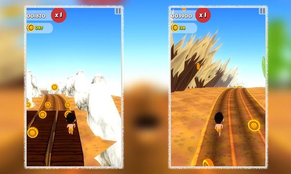 Cave Man Runner 3D apk screenshot