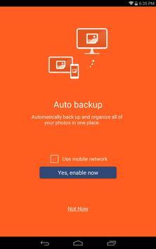 abPhoto (photo backup) apk screenshot