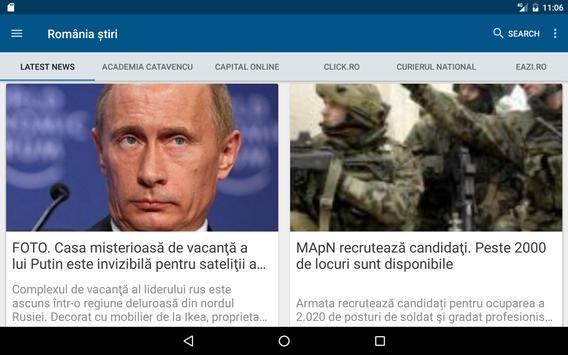 România știri apk screenshot
