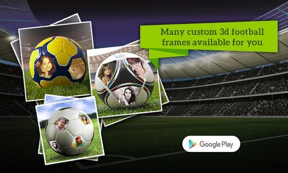 Football Multiple Photo Frames screenshot 1