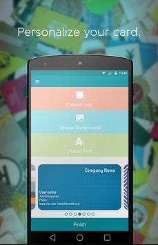 Bink - Business card apk screenshot