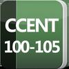 Cisco CCENT Certification: 100-105 (ICND1) Exam आइकन