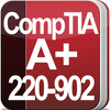 CompTIA A+: 220-902 Exam  (expired on 7/31/2019) आइकन